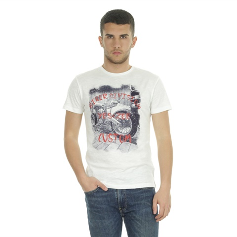 T-SHIRT GRAPHIC CUSTOM UOMO YES ZEE
