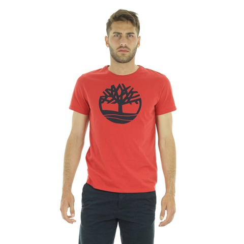 KENNEBEC RIVER - ORGANIC COTTON TREE LOGO TEE UOMO TIMBERLAND