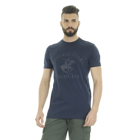 T-SHIRT STAMPA BIG LOGO UOMO BEVERLY HILLS POLO CLUB