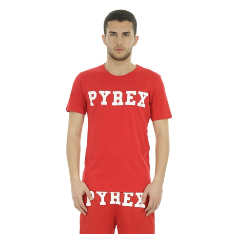 T-SHIRT BIG LOGO UOMO PYREX
