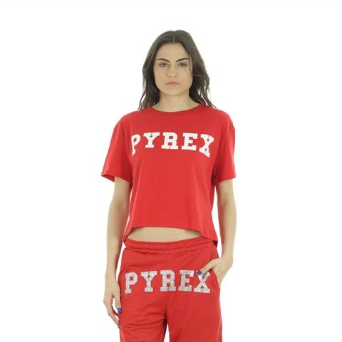 T-SHIRT BIG LOGO DONNA PYREX