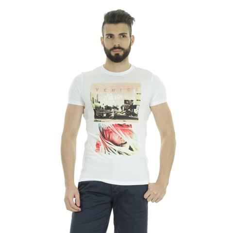 T-SHIRT GRAPHIC VENICE UOMO YES ZEE