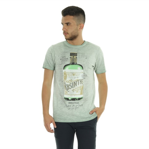 T-SHIRT BOTTLE UOMO CATBALOU