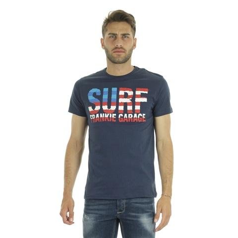 T-SHIRT GRAPHIC SURF UOMO FRANKIE GARAGE