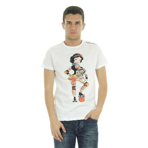 T-SHIRT GRAPHIC SNOW UOMO FRANKIE GARAGE