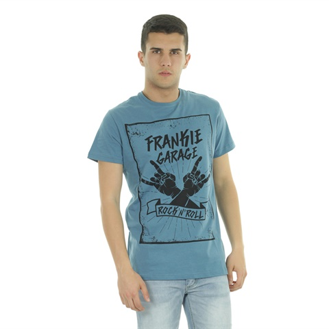 T-SHIRT GRAPHIC ROCK UOMO FRANKIE GARAGE