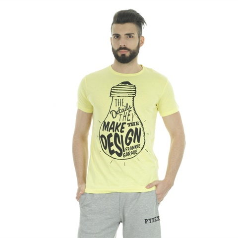 T-SHIRT GRAPHIC MAKE DESIGN UOMO FRANKIE GARAGE