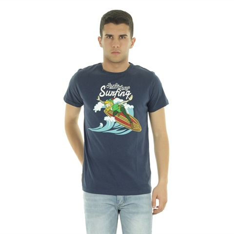 T-SHIRT GRAPHIC SUNFING UOMO FRANKIE GARAGE