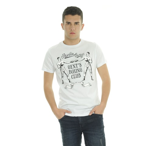 T-SHIRT GRAPHIC BOXING UOMO FRANKIE GARAGE