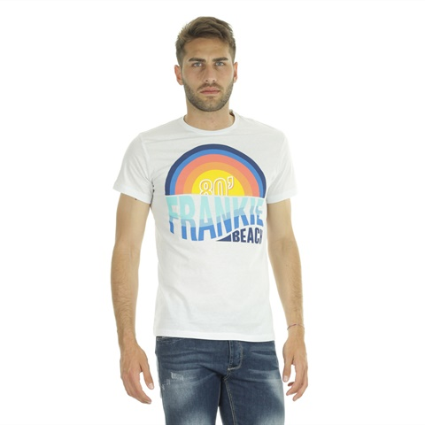 T-SHIRT GRAPHIC BEACH 80 UOMO FRANKIE GARAGE