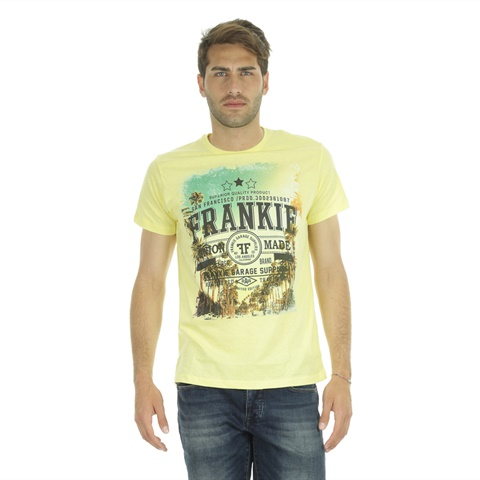 T-SHIRT GRAPHIC SAN FRANCISCO UOMO FRANKIE GARAGE