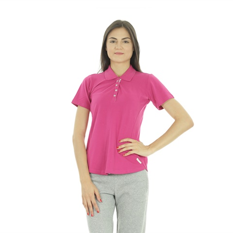 POLO PIQUET STRETCH DONNA CHAMPION