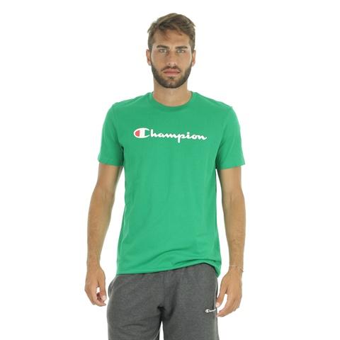 T-SHIRT BIG LOGO CLASSIC UOMO CHAMPION