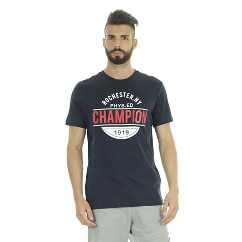 T-SHIRT GRAPHIC ROCHESTER NEW YORK UOMO CHAMPION