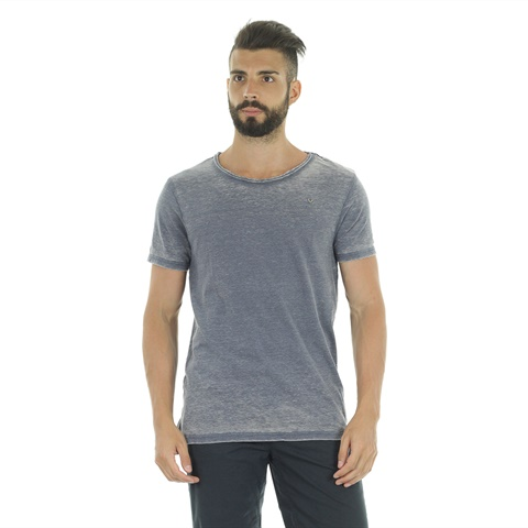 T-SHIRT RIGATA DEVORE UOMO FIFTY FOUR