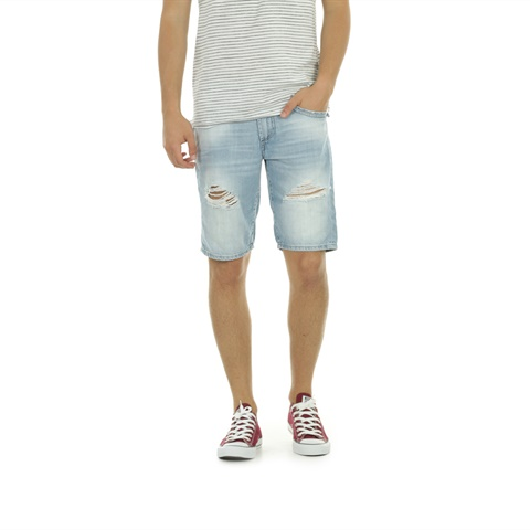 BERMUDA JEANS 5T ROTTURE  FIFTY FOUR