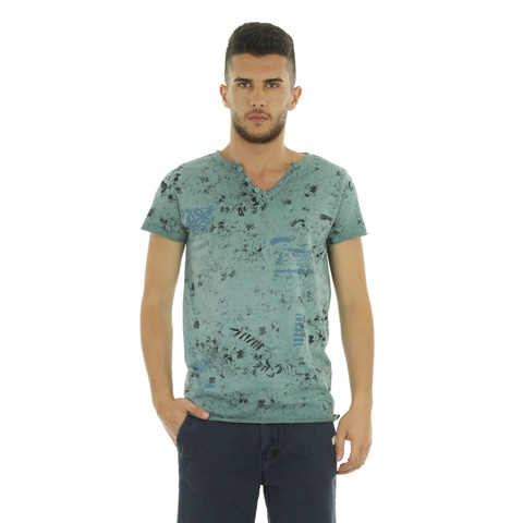 T-SHIRT FANTASIA BOTTONCINI UOMO FIFTY FOUR