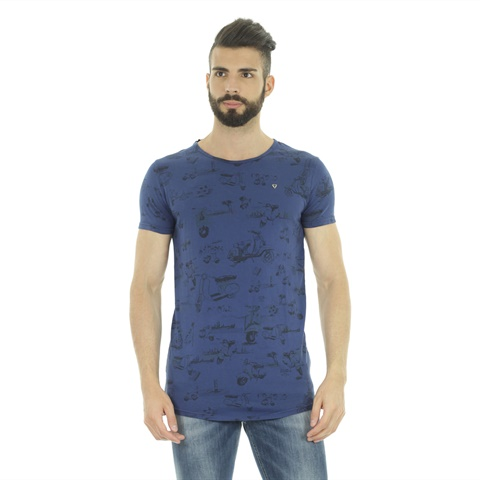T-SHIRT STAMPA VESPETTA UOMO FIFTY FOUR