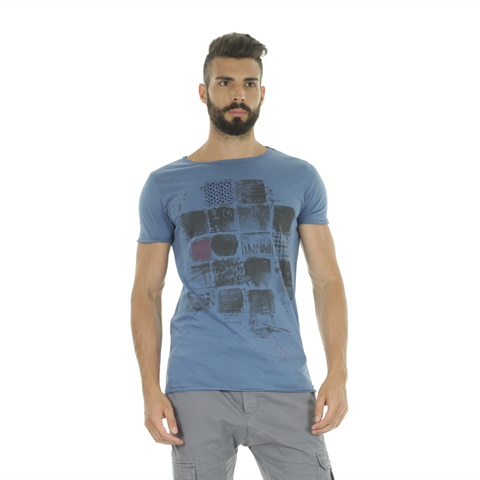 T-SHIRT STAMPA PATCH UOMO FIFTY FOUR