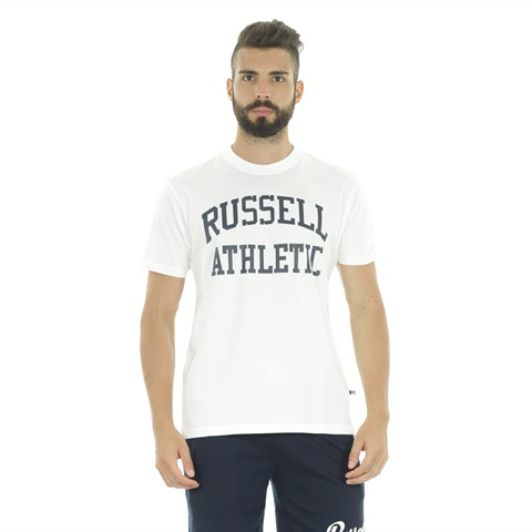 T-SHIRT ARCH BIG LOGO UOMO RUSSELL