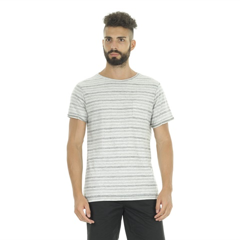 T-SHIRT STAMPA INTERNA RIGHE UOMO BLEND